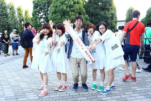 【レポート】日本の魅力をぎゅぎゅっと凝縮したポップ・カルチャーの総合フェス<もしもしにっぽん>に行ってきた art141002_moshimoshi_4