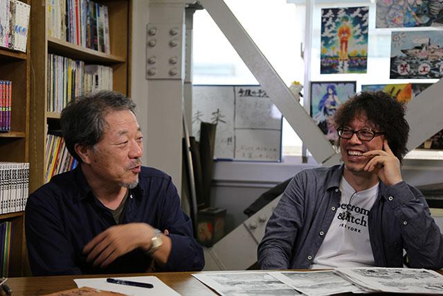 浦沢直樹と辿る、漫画の創作現場に密着した『浦沢直樹の漫勉』放送決定! art141106_manben_05