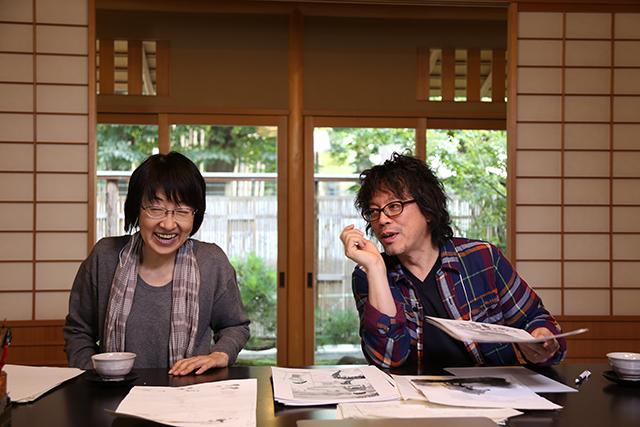 浦沢直樹と辿る、漫画の創作現場に密着した『浦沢直樹の漫勉』放送決定! art141107_manben_1