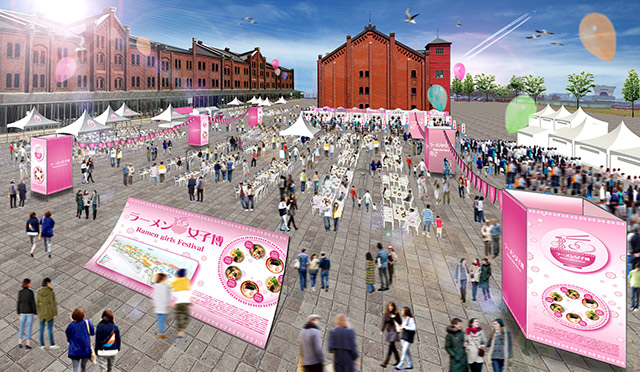 <ラーメン女子博 15'>出店8店舗発表!「おっぱいラーメン」のコラボも food15019_ramengirlsfestival_2