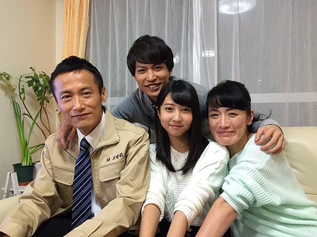 家族の絆を描いたショートムービー『父と、娘と。娘の進路編』公開 video150403_taisho_2