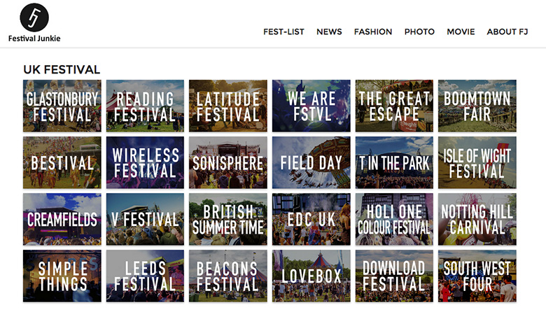 フェス好き必見!日本初の海外フェス情報サイトオープン! music150611_festivaljunkie_2