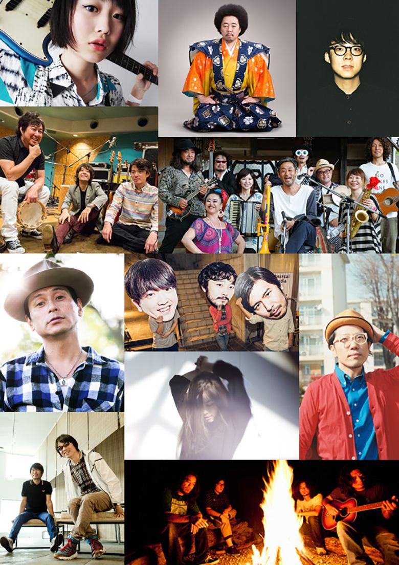 New Acoustic Camp第三弾にハナレグミ、レキシら11組 music150626_nac_2