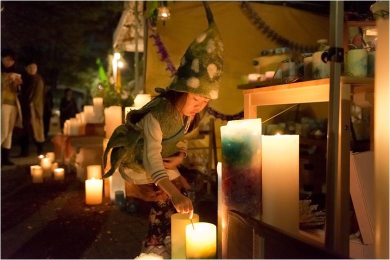 """earth garden""""秋""""日程発表!テーマは代々木クラフトフェア candle01.780jpg"""