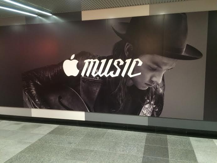 渋谷駅に突如出現したApple Musicの広告がカッコイイ! img12