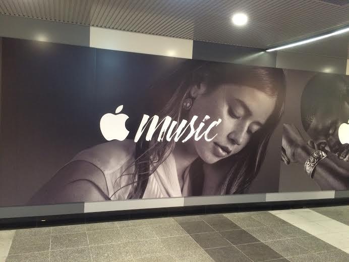渋谷駅に突如出現したApple Musicの広告がカッコイイ! img51