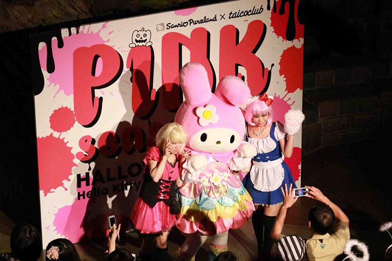 ピューロランドでTAICOCLUB!一夜限りのパーティを今年も music150804_pink_2