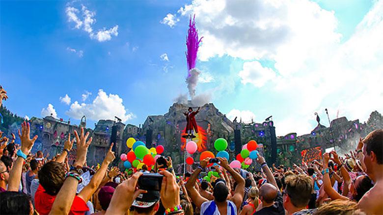 世界最高峰のEDMフェス!トゥモローランドを一挙放送!