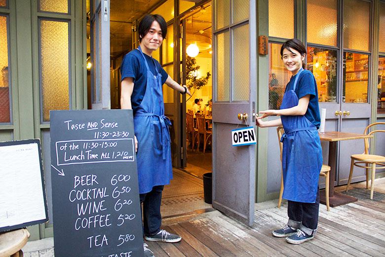 あの1LDK併設のおしゃれカフェに潜入!服と食事と音楽と food150831_tasteandsense_photo8