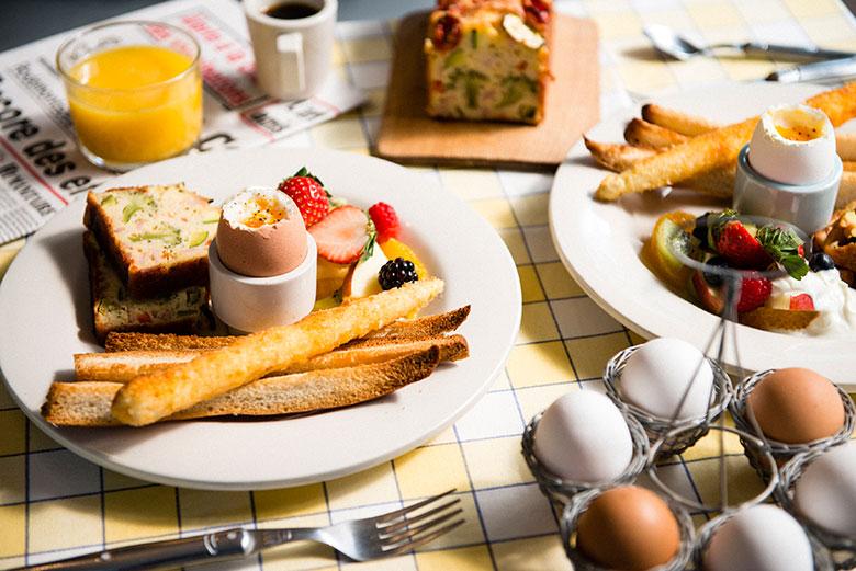 優雅な朝食でボンジュール。世界朝食レストランのフランス料理! 1_DSC5304