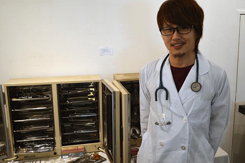 医療器具をコレクション?!新宿座プロデュースの医療器具展 DSC_0350