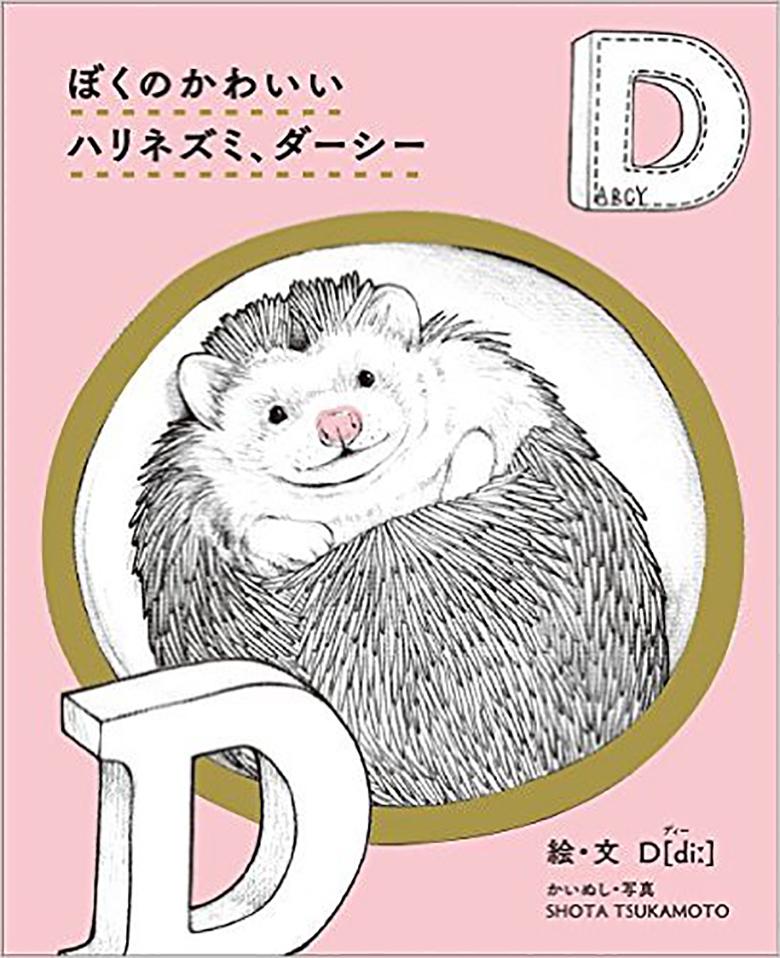 世界一有名なハリネズミDarcy、飼い主の塚本氏×作家D[diː]の対談 art151112_deeth_1