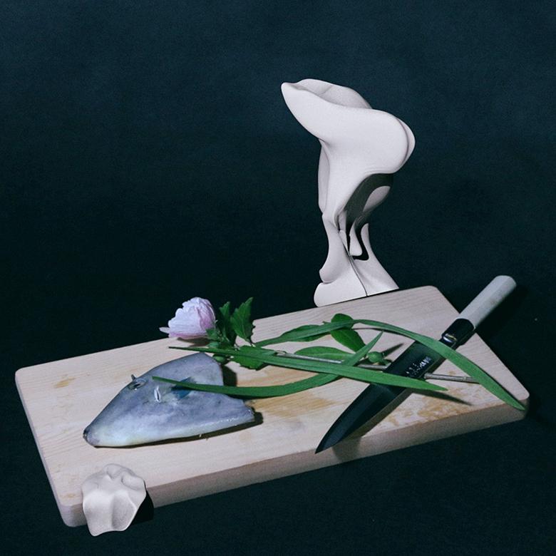 Seiho主催「イカ」と「生け花」を展示するクラブイベント art160119_seiho_2