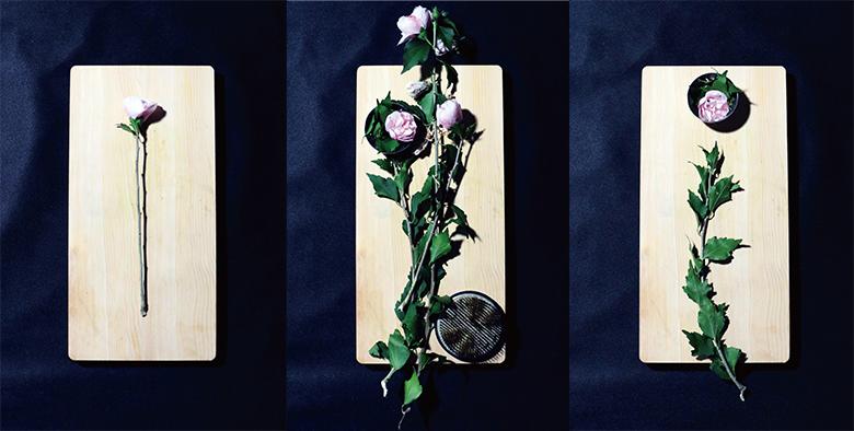 Seiho主催「イカ」と「生け花」を展示するクラブイベント art160119_seiho_3