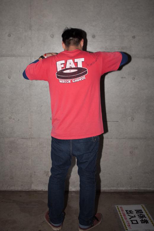 ファッションスナップ@FAT WRECKED FOR 25 YEARS