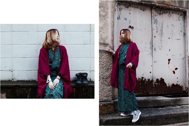 着物×スニーカー! 和を表現するインスタグラムアカウント palladium_kimono780