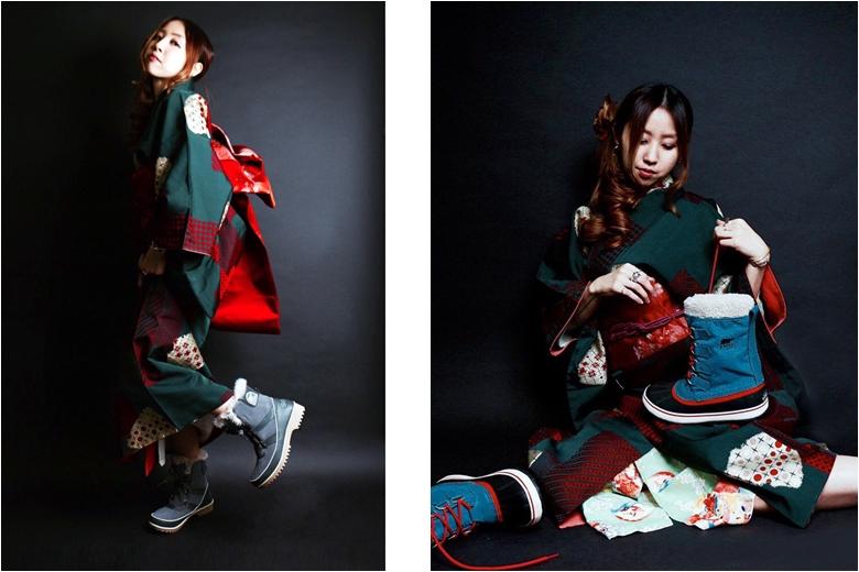 着物×スニーカー! 和を表現するインスタグラムアカウント sorel_kimono780