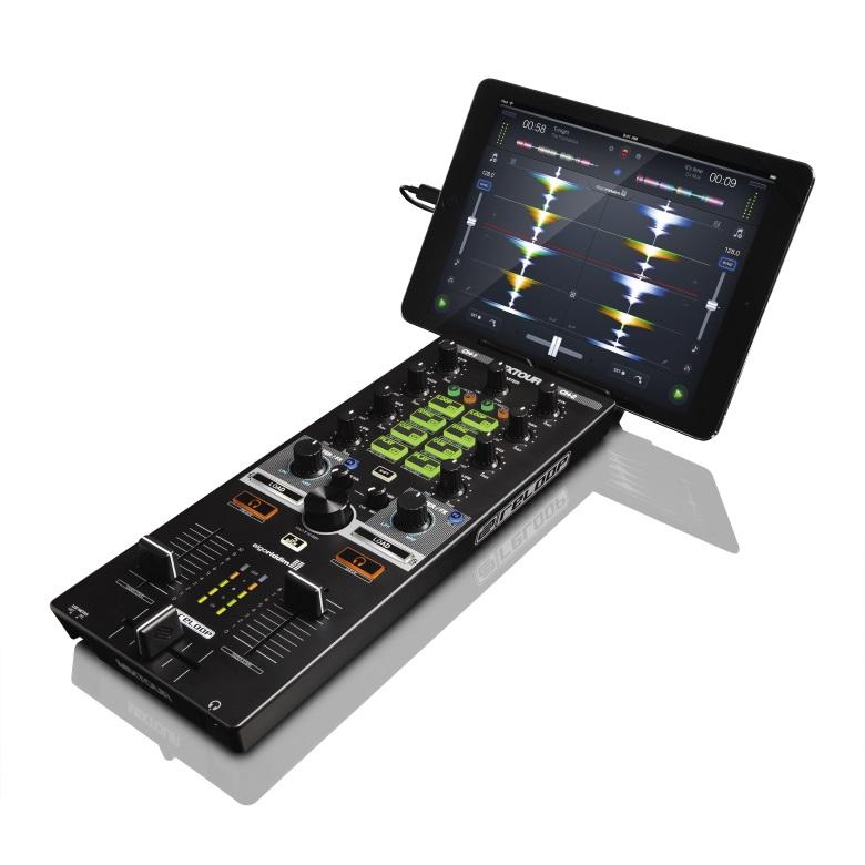 スマホとタブレットに向けた本格的DJツールがReloopから登場! reloop_mixtour2_780