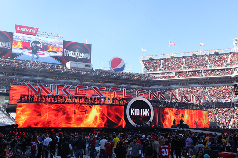 WWEレッスルマニアは今週末開催...