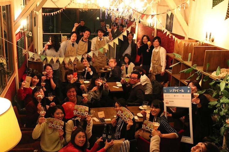 """海開きの前に""""ビール開き""""?!シブヤの日に1万人で乾杯 food160310_shibuyabeer_7"""
