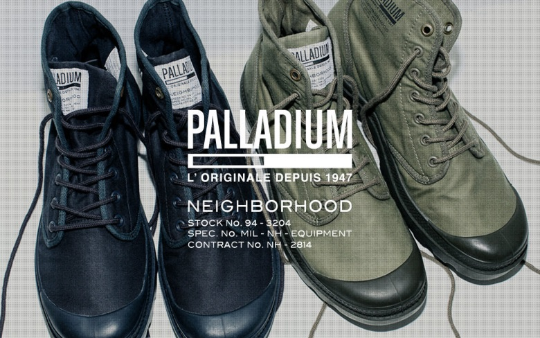 PALLADIUM × NEIGHBORHOODがコラボ!限定シューズ誕生 pala_neigh_2mainimage780