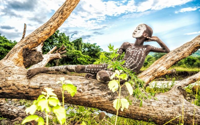 """""""極彩""""を感じる。ヨシダナギ、スリ族にフューチャーした日本初の写真集発売 suri_co2_780"""