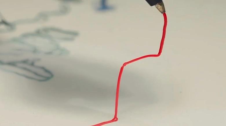 まるで魔法!3Dペンで立体を描いた2次元トリックアート video160321_the3doodler_4