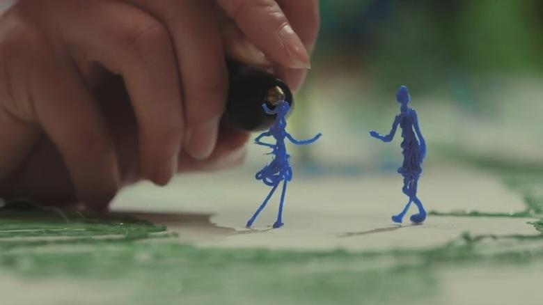 まるで魔法!3Dペンで立体を描いた2次元トリックアート video160321_the3doodler_7