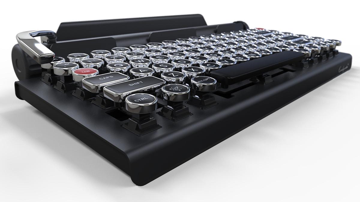 近未来を感じさせるレトロなデザインのQWERKY WRITERがカッコいい件 7d6fc96bccca94e5025310f044ae390a