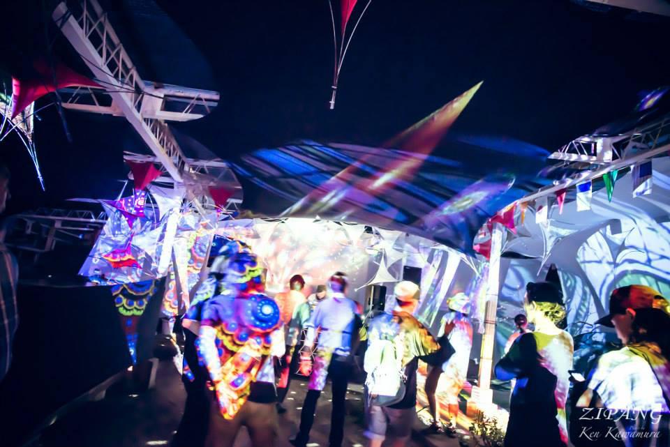 DJ NOBUやGONNOも出演!国産ダンスミュージックとアートの野外フェス<ZIPANG 2016> art160621_zipang_10