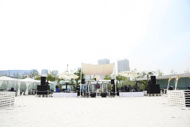 """都内の白浜ビーチでパーティー!""""気持ちよすぎる""""イベント「Tropical Disco」 music160621_tropicaldisco_3"""