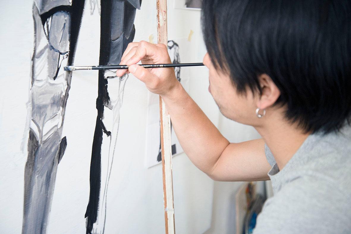 """【インタビュー】""""死後100年に残る絵を描きたい"""" ベルリン在住の油絵画家・星 智に迫る column160817_km_8"""