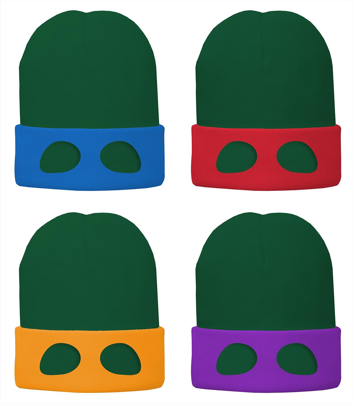 """世界一有名な""""亀""""がカムバック!ニンジャ・タートルズ映画最新作よりニット帽をプレゼント!"""