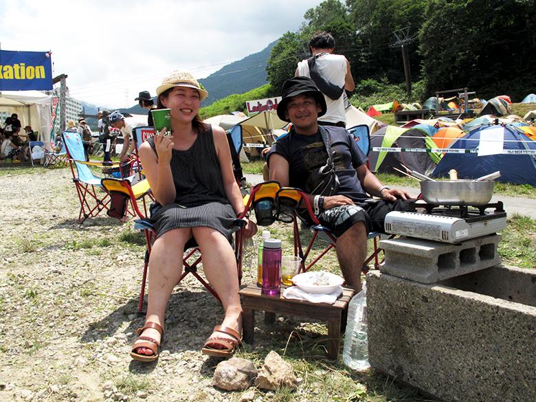 フジロックでCHUMSが大活躍!?この夏気になる最新フェスファッションもお届け!#fujirock life160808_chums_120