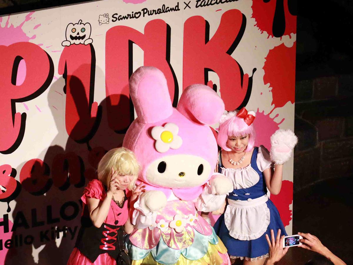 サンリオ × TAICOCLUBハロウィンオールナイトパーティ今年も開催!第一弾にテンテンコら life160810_pink_6