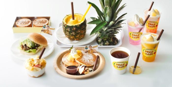 世界初!ピコ太郎「PPAPカフェ」期間限定オープン!リアルにパイナッポーペン!? 003-1-700x354