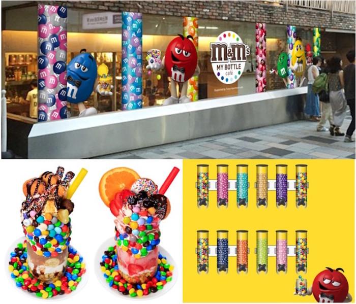 「M&M'S」カフェが原宿に登場!限定パフェ、日本初上陸カラーも! food161026_mms_1-700x599