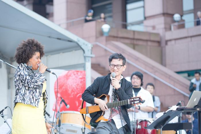 【ライブレポ】ジャイルス・ピーターソンが認めた才能が集結!マイラ・フレイタスと世界に誇る3人の日本人が圧巻のパフォーマンス! music161014_wwjpn_19-700x468