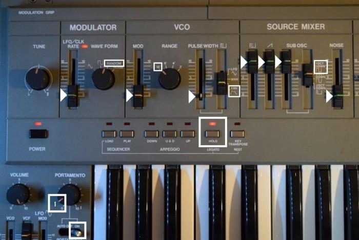 80年代にローランドが発売した人気のアナログ・シンセ、ローランド『SH-101』の演奏と、その魅力。 7d6fc96bccca94e5025310f044ae390a-700x468