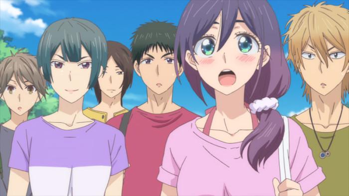 TVアニメ『私がモテてどうすんだ』第9話「海だ水着だ本気出す!」先行場面カット公開! ep09-01-700x394