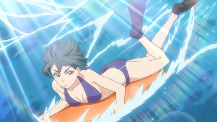 TVアニメ『私がモテてどうすんだ』第9話「海だ水着だ本気出す!」先行場面カット公開! ep09-06-700x394