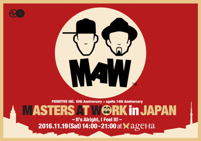 いよいよ今週開催!マスターズ・アット・ワーク日本公演、タイムテーブル&フロア割発表! maw_web_visual-700x493