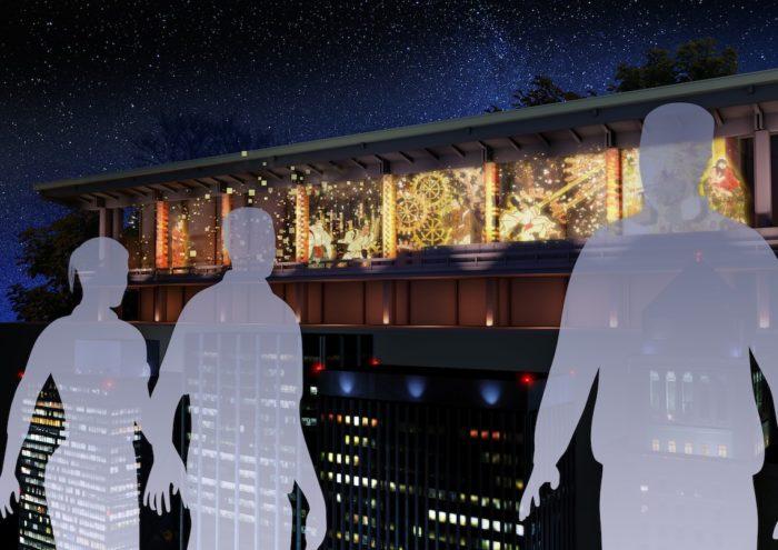 """伝説の東京駅&ジャンボジェット3Dプロジェクションマッピングがよみがえる!?""""都市""""のアート展開催! Ar161220_TOKYO-ART-CITY_6-700x495"""