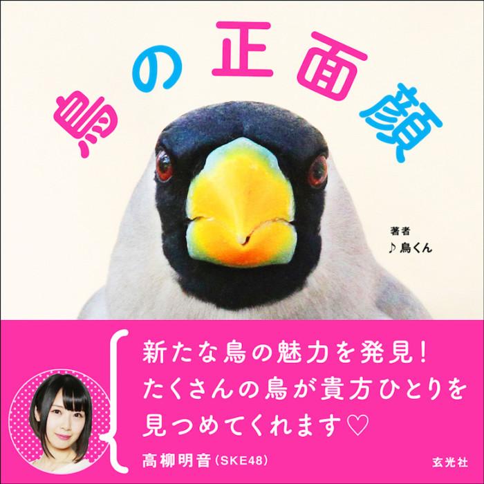 SKE48高柳明音が推薦!鳥の正面顔だけを172種類収録した写真集って? art161201_genkosha_011-700x700