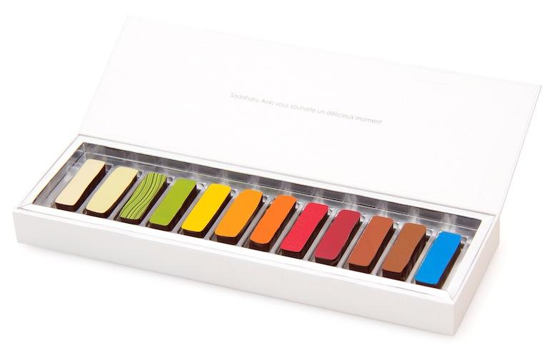 まるでカラーパレット!ビビットカラーのお洒落チョコが期間限定で発売! Fo170119_AOKI-_5