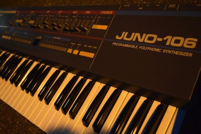 ローランドが80年代に発売し、テクノ・ハウス系ユーザーに人気が高かった『JUNO-106』のサウンドと魅力 Te170102_ju06_2-700x468