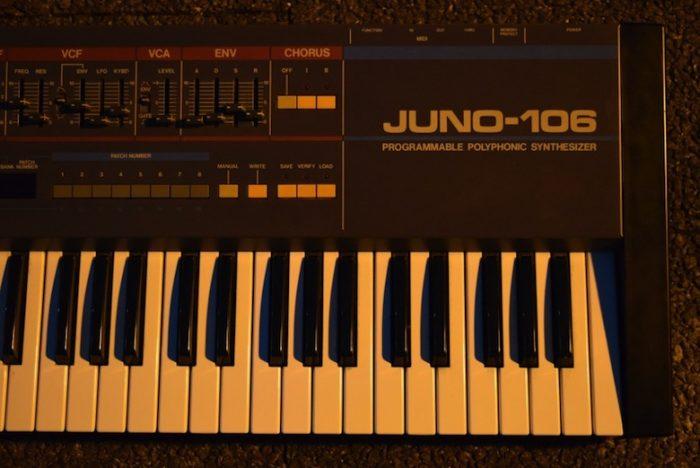 ローランドが80年代に発売し、テクノ・ハウス系ユーザーに人気が高かった『JUNO-106』のサウンドと魅力 Te170102_ju06_3-700x468