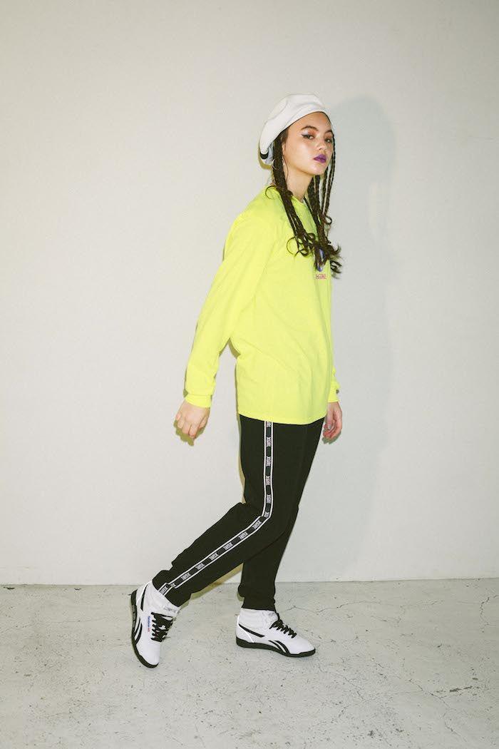 「X-girl」×「Reebok」元旦にコラボレーション!!全国で発売開始!! fashion171222_FREE-_STYLE_HI_XGIRL_01-700x1050