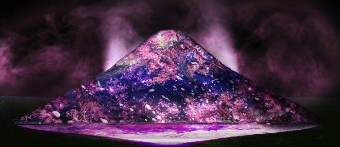 六本木に富士山が出現!高さ6m幅23mの巨大プロジェクションマッピング「JAPAN, THE BEAUTIFUL」 Ar170317_tokyomidtown_1-700x302