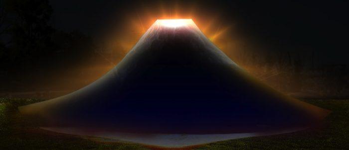 六本木に富士山が出現!高さ6m幅23mの巨大プロジェクションマッピング「JAPAN, THE BEAUTIFUL」 Ar170317_tokyomidtown_2-700x302